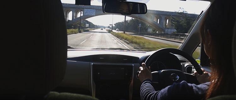 シートカバーの動画撮影