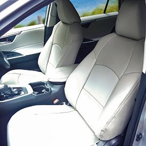 RAV4シートカバー装着画像